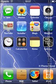 Lightning 01 theme screenshot