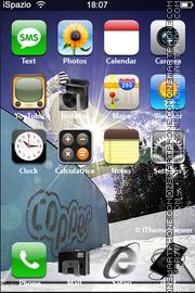 Snowboard 06 theme screenshot