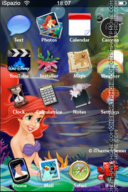 Ariel 02 theme screenshot