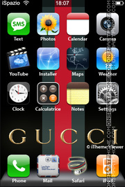 Gucci 17 theme screenshot