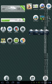 Sole theme screenshot