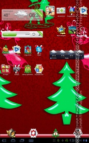 Christmas 06 theme screenshot