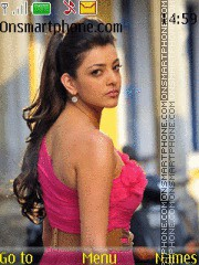 Kajal Agarwal 04 theme screenshot