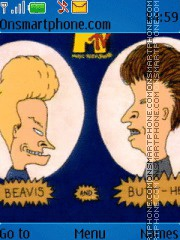 Beavis and Butthead theme screenshot