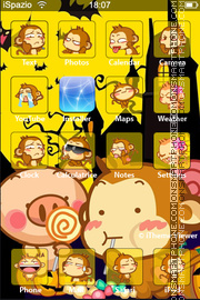 Monkey 06 theme screenshot