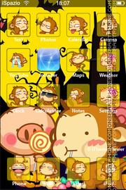 Скриншот темы Monkey 06