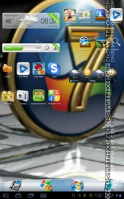 Windows 7 32 tema screenshot