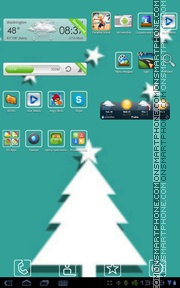 Christmas Tree 12 theme screenshot
