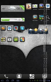 The Dark Knight Rises 01 tema screenshot