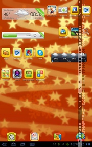 Christmas Day 02 tema screenshot