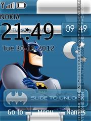 Batman Live Clock theme screenshot