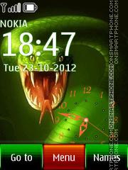 Green Snake 06 theme screenshot