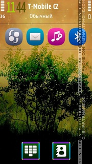 Colorful Tree 5th theme screenshot