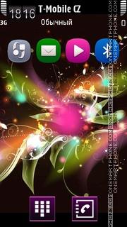 Gentle Glow theme screenshot