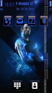 Kobe Bryant 09 theme screenshot