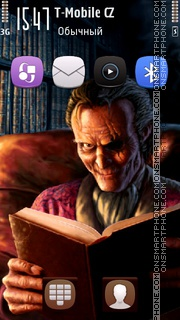 Horror Black Book es el tema de pantalla