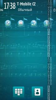 Music Note 03 es el tema de pantalla