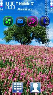 Meadow and Tree 5th theme screenshot