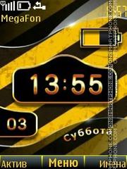 Danger Battery tema screenshot