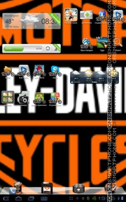 Harley Davidson 06 theme screenshot