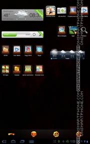 Скриншот темы Treasure Box