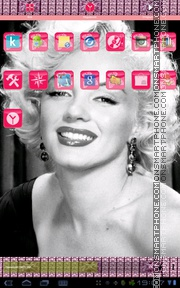 Marilyn Monroe 02 theme screenshot