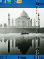 Taj Mahal View tema screenshot