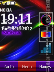 Nokia all in one 01 theme screenshot