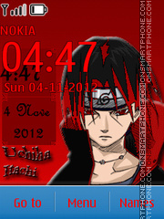 Скриншот темы Itachi 05