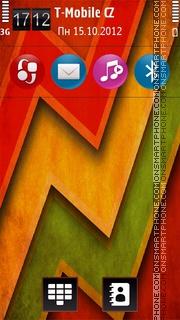 Capture d'écran Colours V2 thème