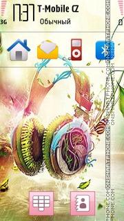 Music 5334 tema screenshot