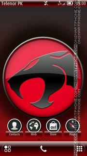 Скриншот темы Thundercat