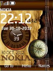 Compass Nokia Dual theme screenshot