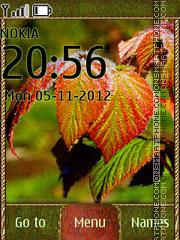 Скриншот темы Colorful Autumn 01