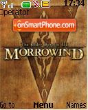 Morrowind es el tema de pantalla