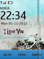 I Love You 10 tema screenshot