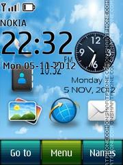 Desktop Live theme screenshot