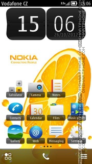 Nokia Live theme screenshot