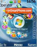 Livemessenger theme screenshot