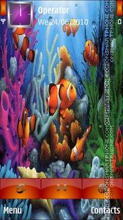 Under Water es el tema de pantalla