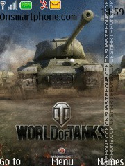 World of Tanks theme screenshot