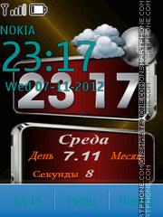 HTC z1 theme screenshot