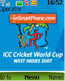 Cricket World Cup theme screenshot