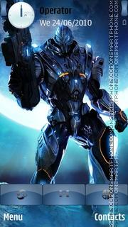 Halo 05 theme screenshot