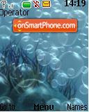 Bubbles 01 theme screenshot