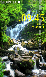 Waterfall 04 theme screenshot