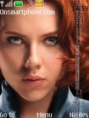 Скриншот темы Scarlett Johansson