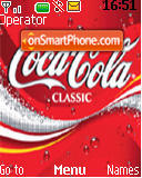 Cocacola tema screenshot