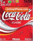 Cocacola es el tema de pantalla
