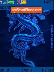 3d Dragon theme screenshot